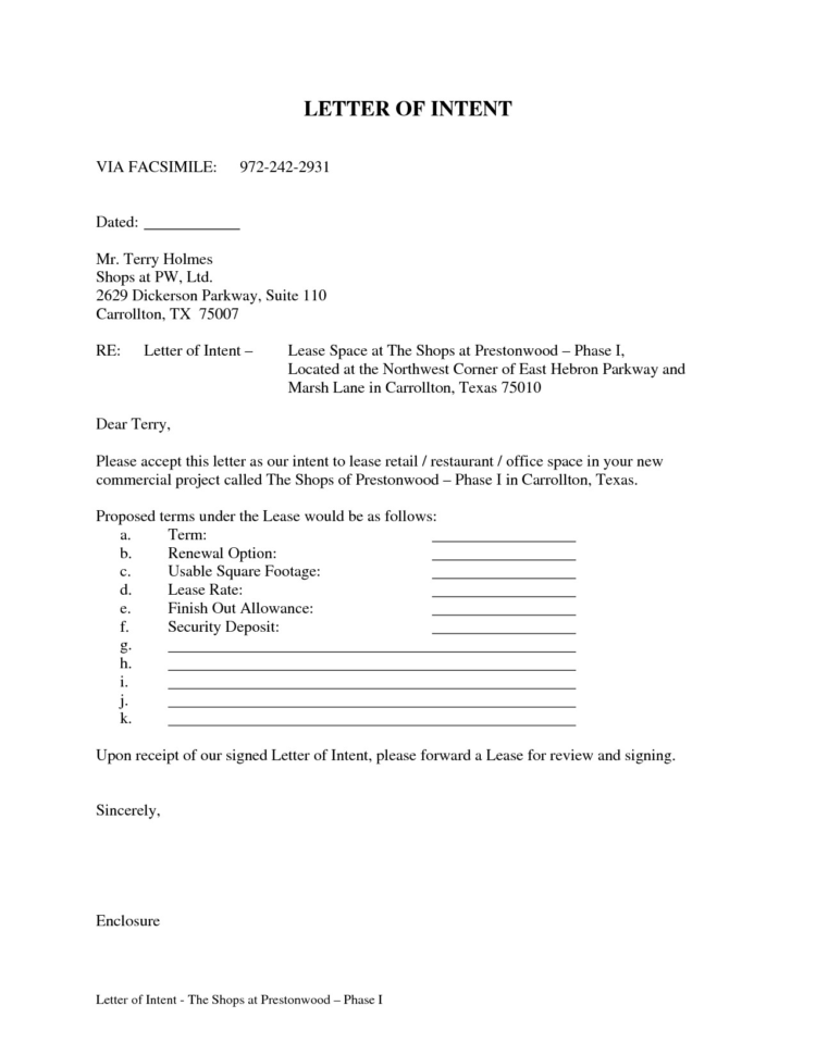 Commercial Real Estate Lease Vs Buy Spreadsheet Throughout Letter Of Intent Template Commercial Real Estate New Mercial Real