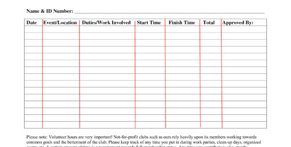 Community Service Spreadsheet In Volunteer Tracking Spreadsheet  Aljererlotgd