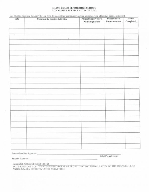 Community Service Spreadsheet Intended For Community Service Spreadsheet Log Printable Sheet For Court  Pywrapper