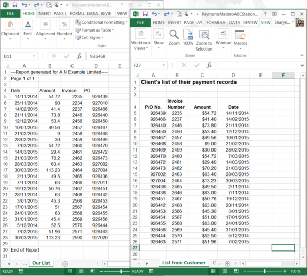 Compare 2 Excel Spreadsheets For Vlookup  Use Vlookup To Compare Two Lists  Excel At Work
