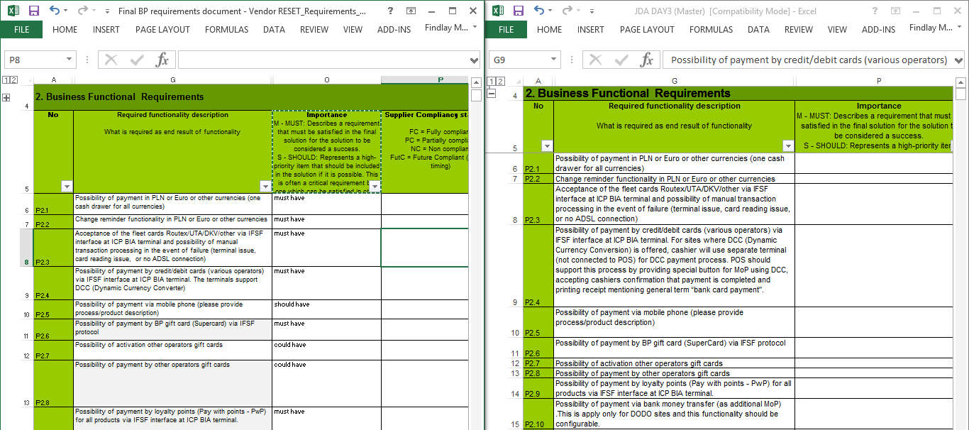 Compare 2 Spreadsheets Regarding How To Compare Two Columns In Separate Spreadsheets And If The