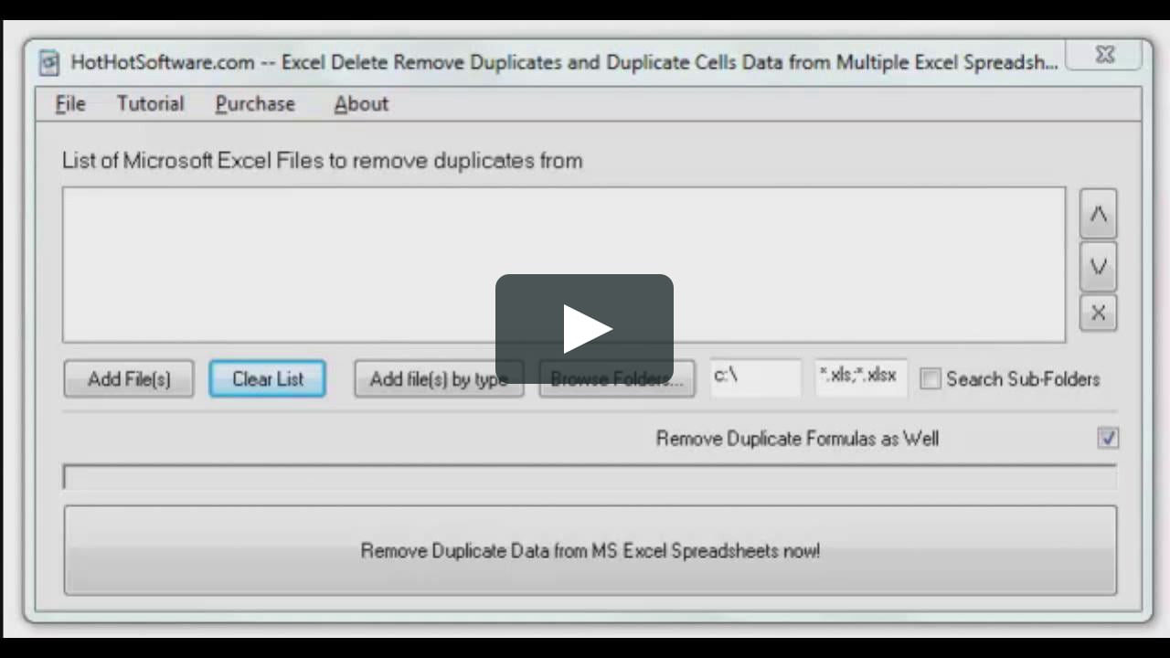Compare Excel Spreadsheets For Duplicates With How To Excel Delete Remove Duplicates And Duplicate Cells Data From