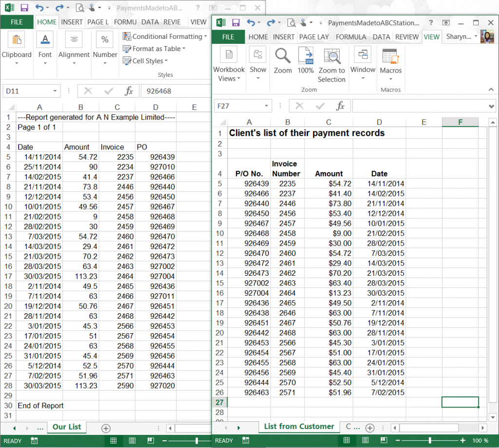 Compare Two Excel Spreadsheets Pertaining To Vlookup  Use Vlookup To Compare Two Lists  Excel At Work