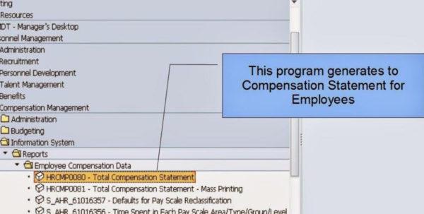 Compensation Spreadsheet Template Regarding Total Compensation Statement Excel Template  Readleaf Document