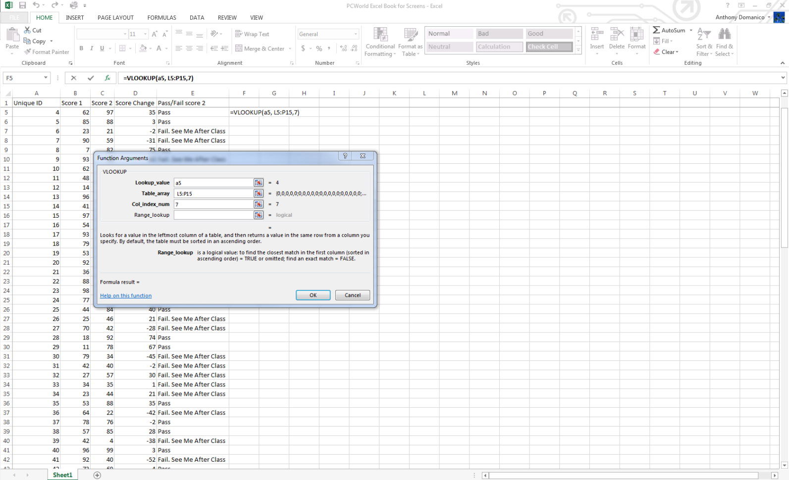 Complex Excel Spreadsheet Examples Inside Real Excel Power Users Know These 11 Tricks  Pcworld