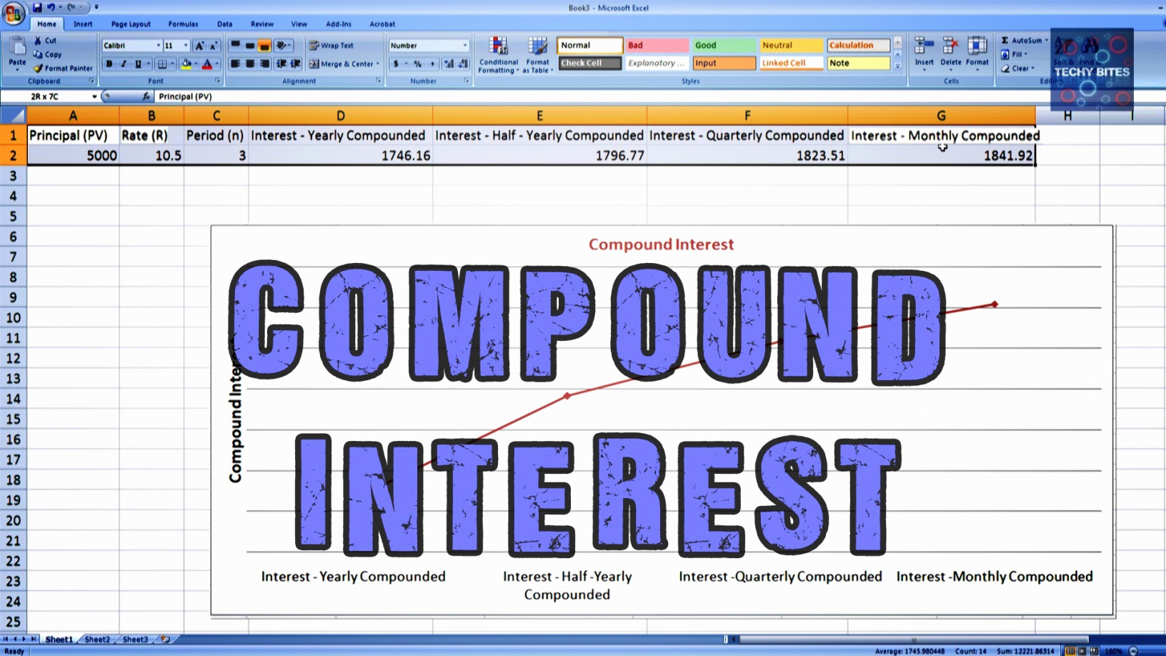 Compound Interest Spreadsheet With Sheet Compound Interest Spreadsheet Compounding Concept Of Beautiful