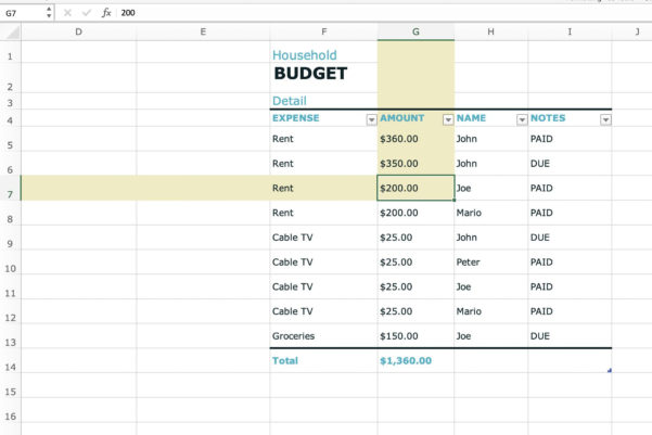 Computer Spreadsheet Program Regarding What Is A Spreadsheet Cell?