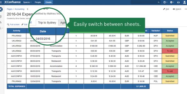Confluence Spreadsheet Plugin Regarding Spreadsheets For Confluence  Atlassian Marketplace