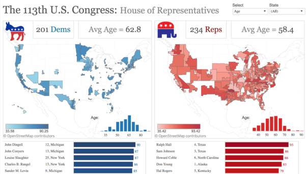 Congressional Districts By Zip Code Spreadsheet Inside How To Map Us Congressional Districts Using Tableau  Tableau Public