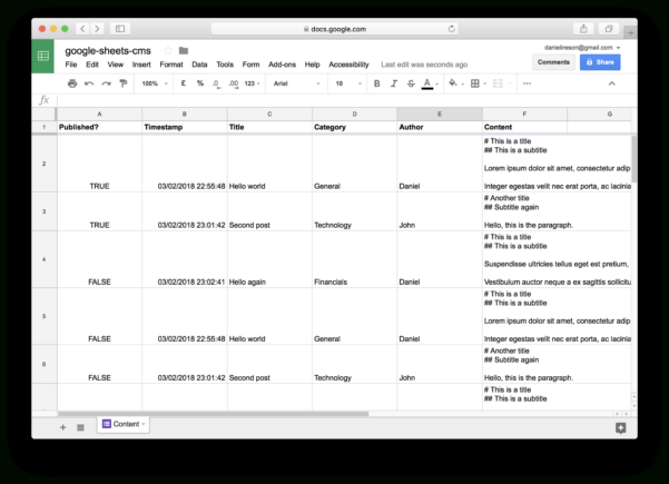 Connect Database To Google Spreadsheet In How To Use Google Sheets And Google Apps Script To Build Your Own