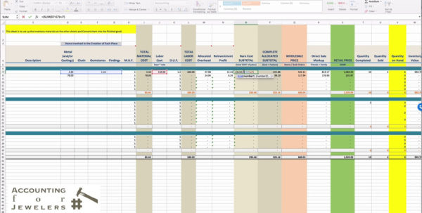Consignment Inventory Spreadsheet Pertaining To Inventory Tracking Spreadsheet Free Consignment Management Food