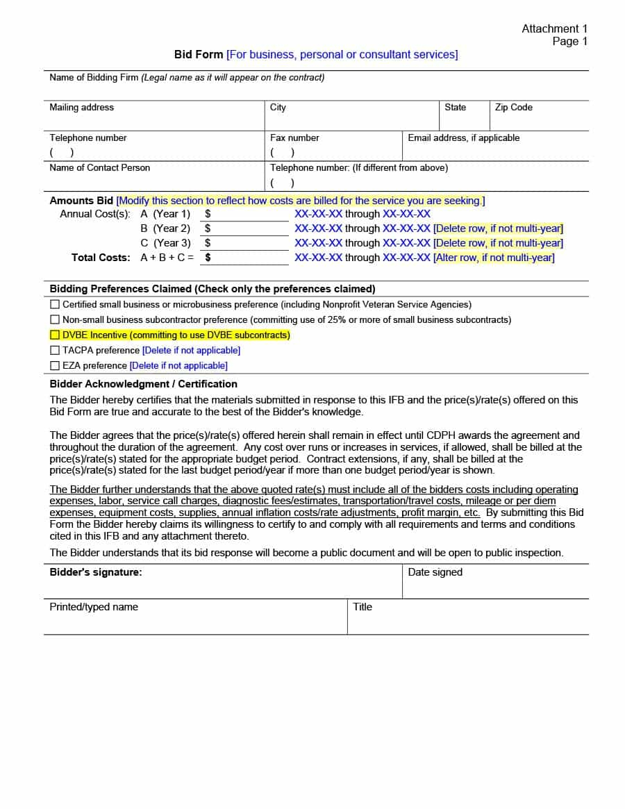 Construction Bid Comparison Spreadsheet For Construction Bid Sheet Template Comparison Spreadsheet Plumbing