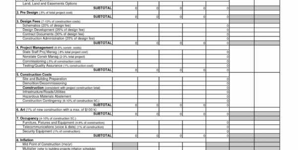 Construction Cost Spreadsheet Template Inside 004 Template Ideas Commercial Construction Cost Breakdown Form