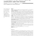 Construction Project Cash Flow Spreadsheet In Pdf An Evaluation Of Risk Factors Impacting Construction Cash Flow
