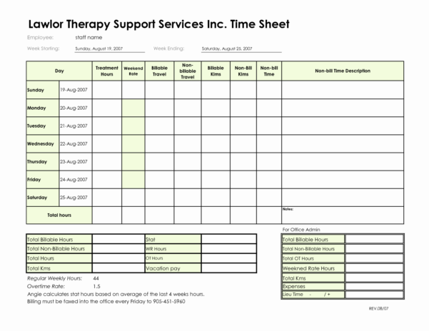 Consultant Billable Hours Spreadsheet In Invoice Template Hours Worked Word 60 Microsoft Invoice Templates