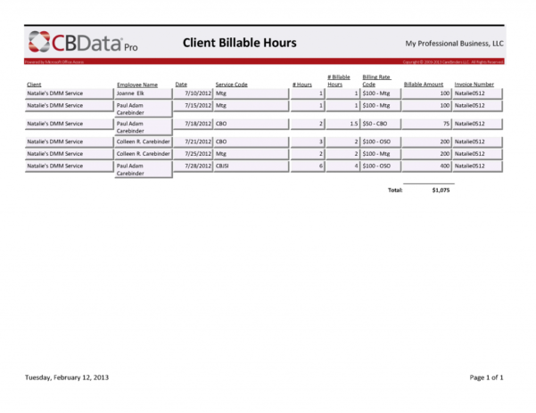 Consultant Billable Hours Spreadsheet Intended For Consultant Billable Hours Spreadsheet Free Template Consulting