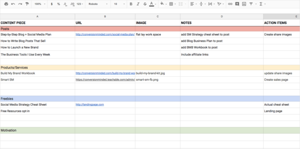 Content Calendar Spreadsheet Within How To Create An Epic Content Calendar For 2019 With Template