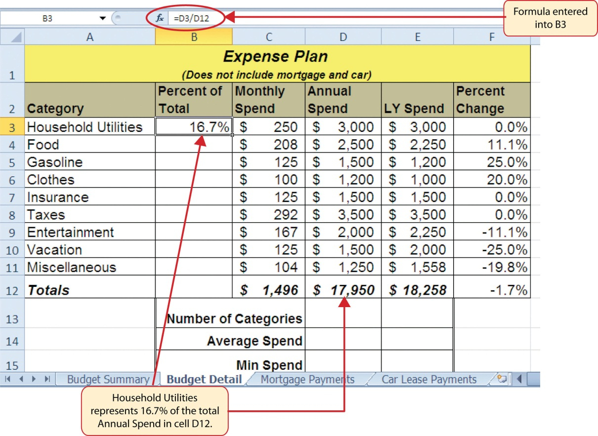 Contents Insurance Calculator Spreadsheet In 2.2 Statistical Functions – Beginning Excel