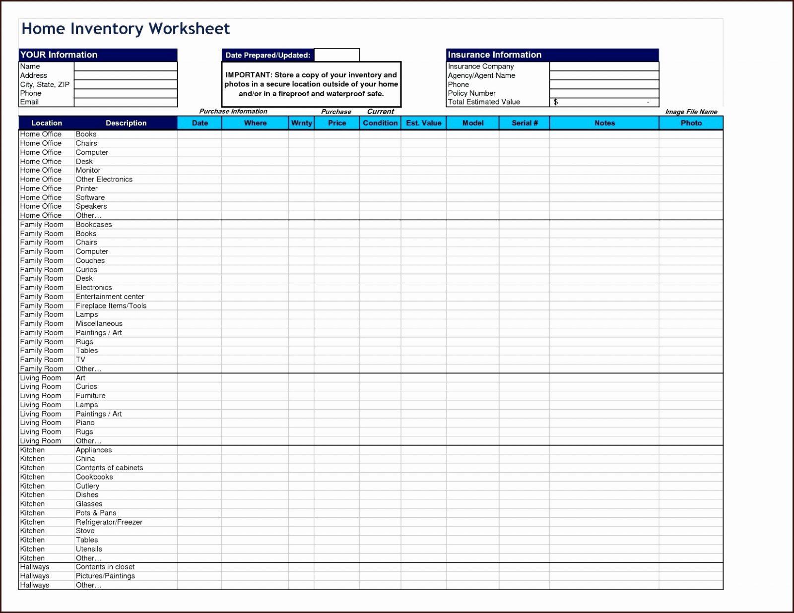 Contents Insurance Calculator Spreadsheet Regarding Spreadsheet Food Storage Calculator Unique Cost Sheet Template