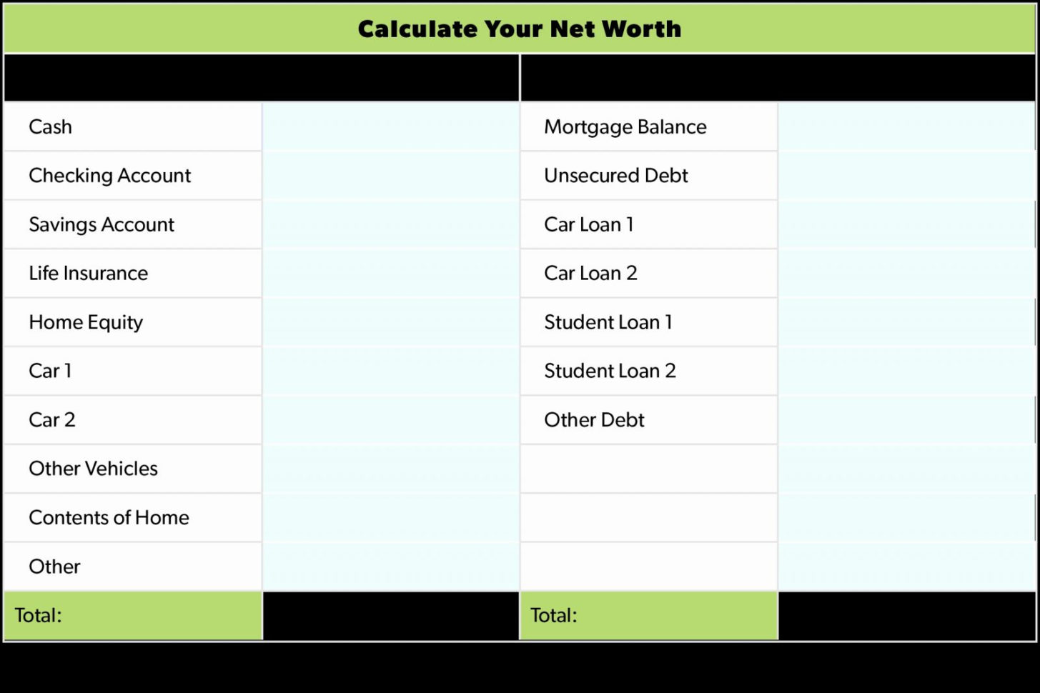 Contents Insurance Calculator Spreadsheet With Regard To Net Worth Spreadsheet Reddit Template For Mac Google Sheets Uk