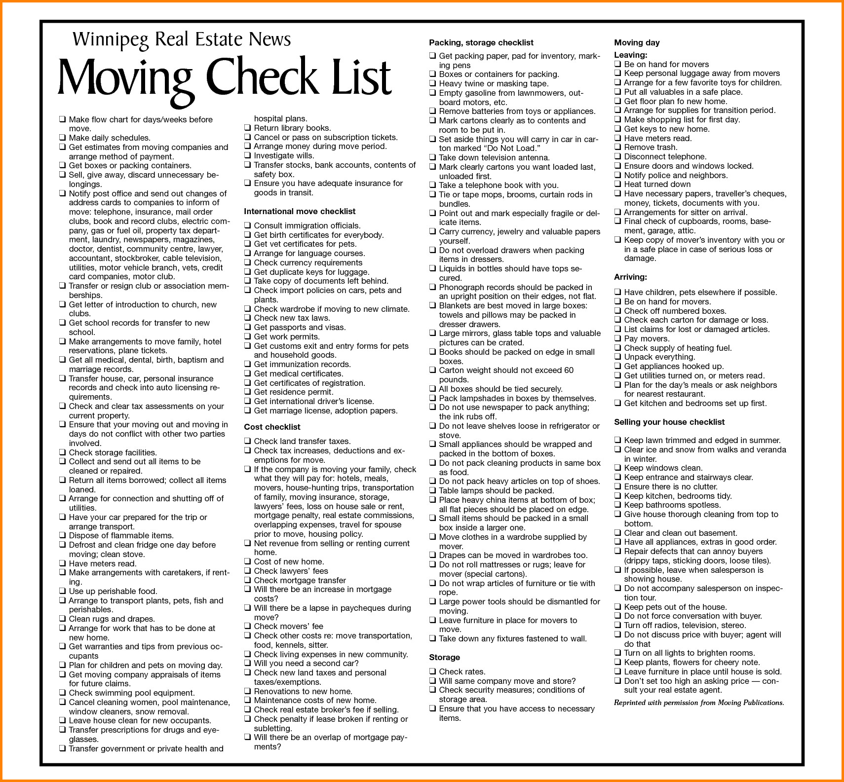 Contents Insurance Checklist Spreadsheet Within Business Moving Checklist Template Fresh Moving Checklist