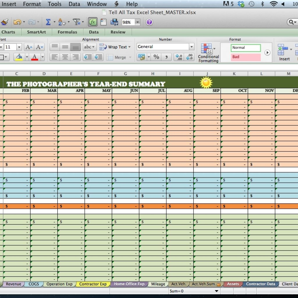 Contractor Expenses Spreadsheet Intended For Barter Agreement Template Luxury Independent Contractor Expenses