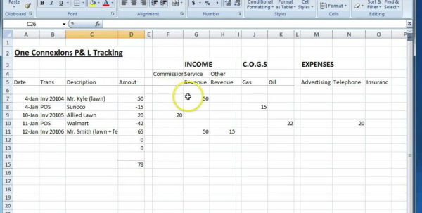 Contractor Expenses Spreadsheet Template In Example Of Independent Contractor Expenses Spreadsheet Free