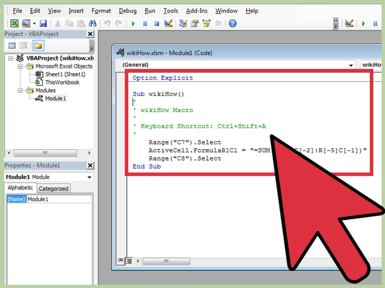 Convert Excel Macro To Google Spreadsheet In The Best Way To Write A Macro In Excel  Wikihow