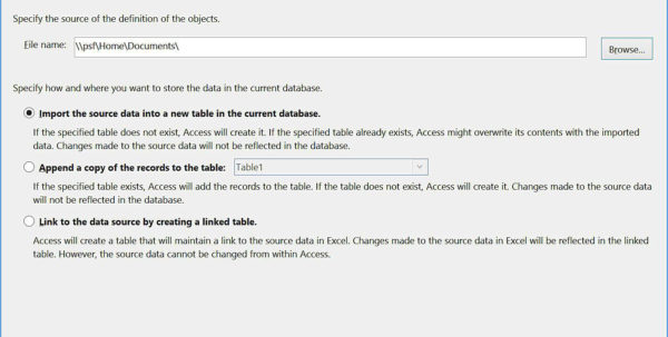 Convert Excel Spreadsheet To Access Database 2013 Regarding Converting An Excel Spreadsheet To Access 2013 Database