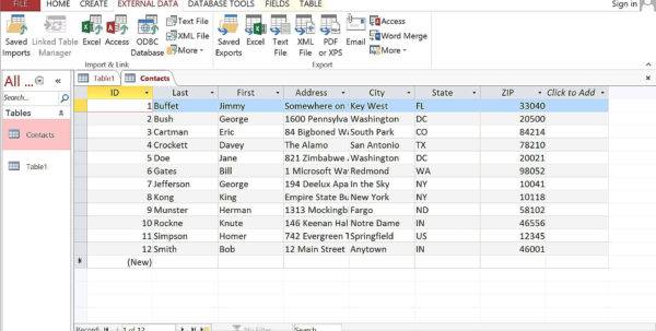 Convert Excel Spreadsheet To Access Database 2013 With Converting An Excel Spreadsheet To Access 2013 Database