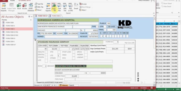 Convert Excel Spreadsheet To Access Database 2013 Within Convert Excel To Access – Keren