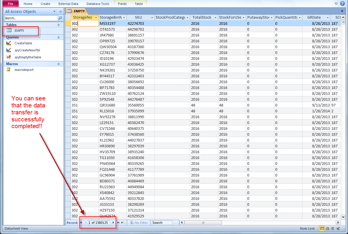 Convert Excel Spreadsheet To Access Database 2016 In Quick Way To Import Multiple Excel Files Into Ms Access