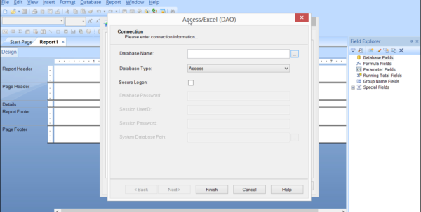 Convert Excel Spreadsheet To Access Database 2016 Within Access Or Excel Dao In Crystal Reports 2013 Tutorial