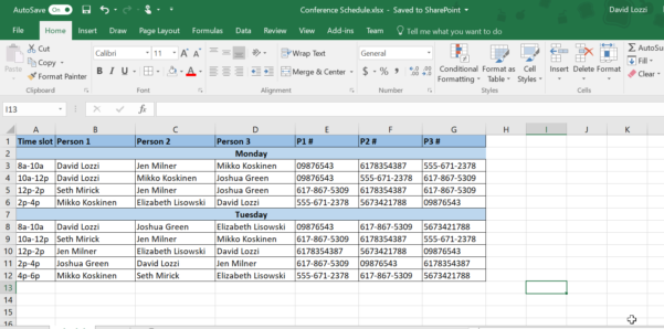 Convert Excel Spreadsheet To Online Database Pertaining To Use Microsoft Forms To Collect Data Right Into Your Excel File