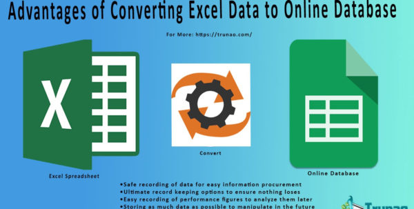 Convert Excel Spreadsheet To Online Database Regarding What Are The Benefits Of Converting Excel Data To Online Database?