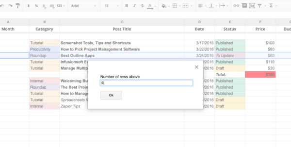 Convert Google Spreadsheet To Html With Regard To 50 Google Sheets Addons To Supercharge Your Spreadsheets  The Convert Google Spreadsheet To Html Payment Spreadsheet