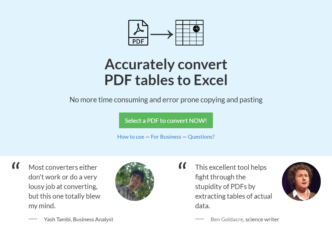 Convert Pdf Table To Excel Spreadsheet With Regard To Lightning Pitch: Pdf Tables  Effortlessly Convert Pdf Tables Into