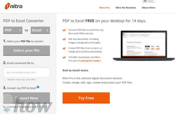 Convert Pdf To Excel Spreadsheet Online Pertaining To Best Free Pdf To Excel Converter Online  Omghowto  Tutorials
