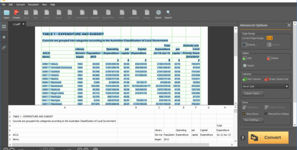 Convert Pdf To Spreadsheet Intended For Convert Pdf To Spreadsheet Free Then Property Management Spreadsheet