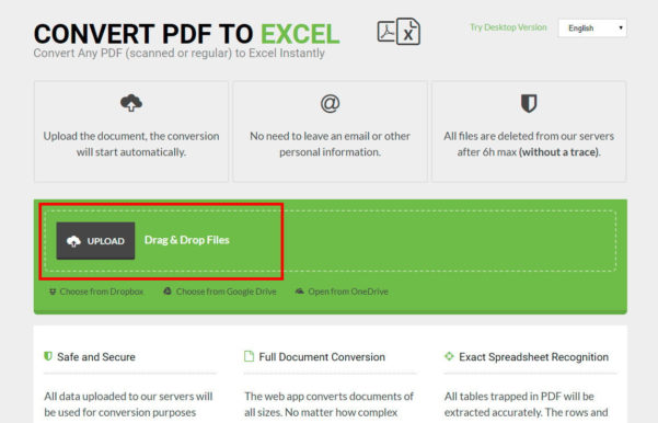 Convert Scanned Pdf To Excel Spreadsheet In How To Convert A Pdf File To Excel  Digital Trends
