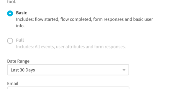 Convert Spreadsheet To Csv Throughout Export Flow Analytics Data Csv  Appcues Docs