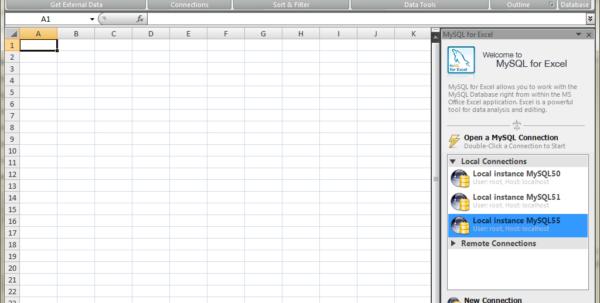 Convert Spreadsheet To Database In Mysql :: Mysql For Excel