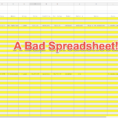 Cool Looking Spreadsheets For How To Make Your Excel Spreadsheets Look Professional In Just 12 Steps