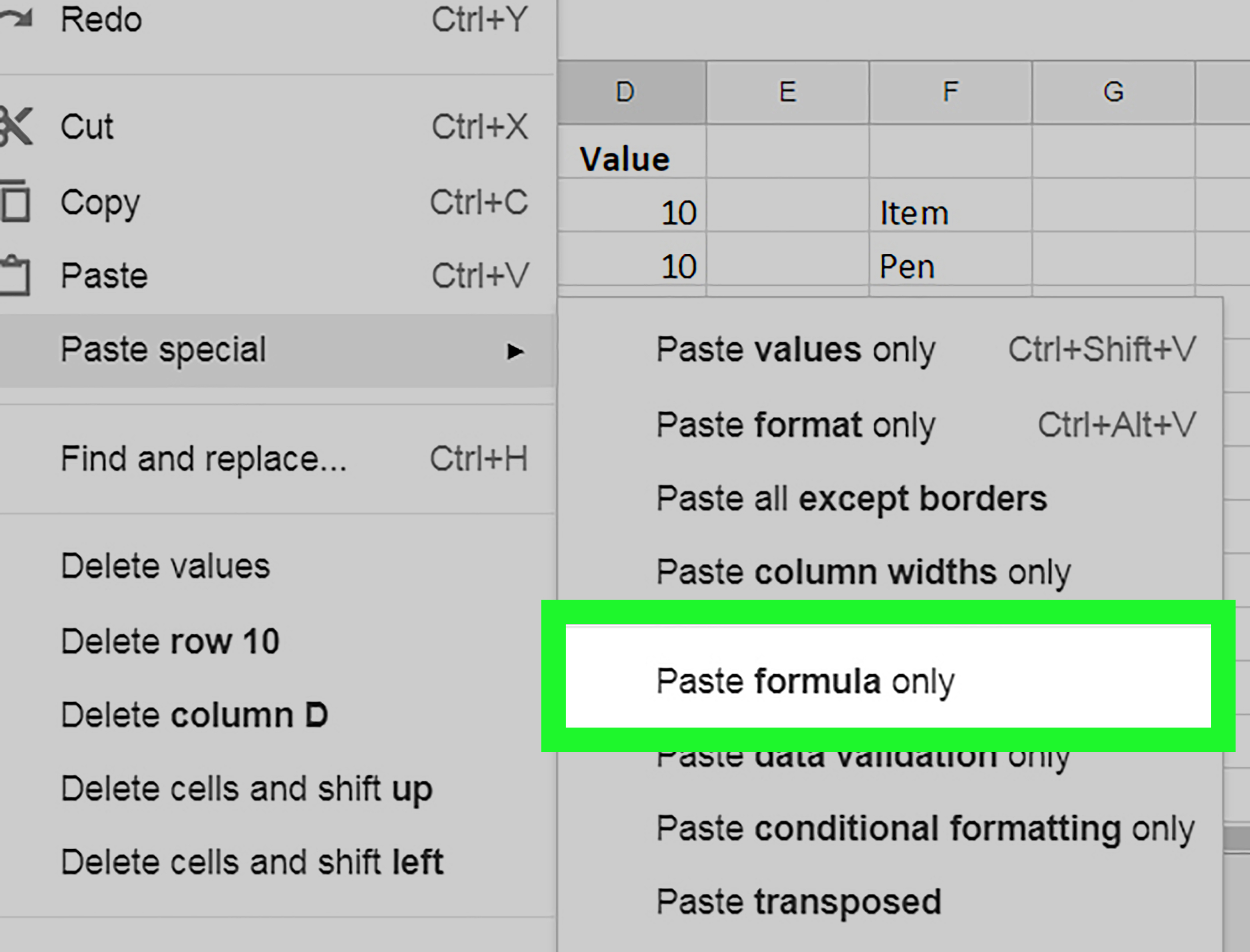 Copy Spreadsheet Pertaining To How To Copy Formulas On Google Sheets On Pc Or Mac: 9 Steps