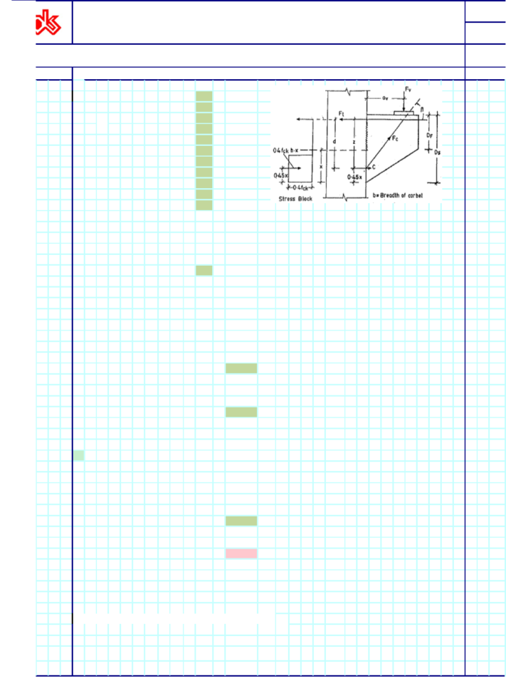 Corbel Design Spreadsheet For Corbel Design Cb1  [Xlsx Document]