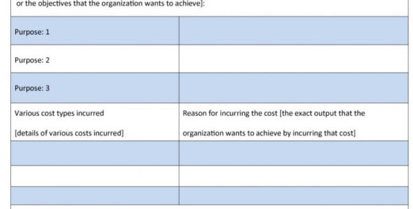 Cost Analysis Spreadsheet Intended For How To Make A Cost Analysis Spreadsheet 40 Benefit Templates