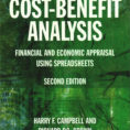 Cost Benefit Analysis Financial And Economic Appraisal Using Spreadsheets Pertaining To Isbn 9781138848801  Costbenefit Analysis: Economic And Financial
