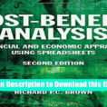 Cost Benefit Analysis Financial And Economic Appraisal Using Spreadsheets Regarding Pdf] Download Costbenefit Analysis: Financial And Economic