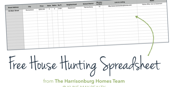 Cost Of Buying A House Spreadsheet Inside Buyers: Keep Track Of Your House Hunting [Free Spreadsheet