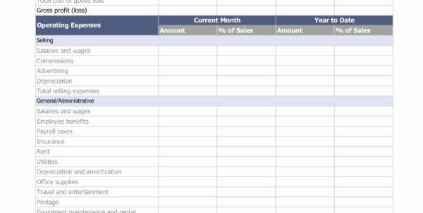 Cost Of Doing Business Spreadsheet In Trucker Expense Spreadsheet Trucking Company Business Expenses